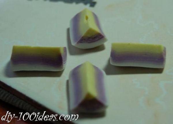 Polymer Clay Flower Petal Cane Tutorial (9)