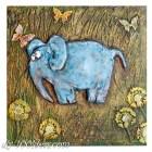 DIY Elephant Wall Art