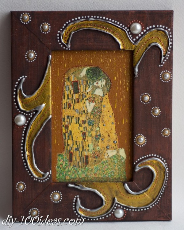 The Kiss Gustav Klimt Framed Wall Art Picture  (12)