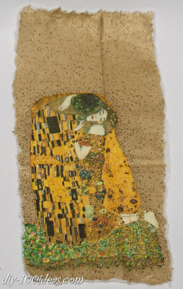 The Kiss Gustav Klimt Framed Wall Art Picture  (3)
