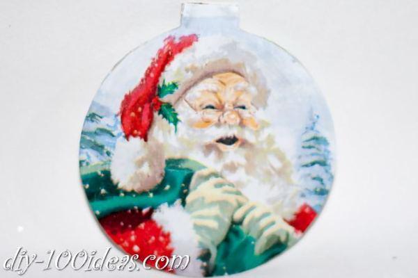 ball Christmas ornament crafts (18)
