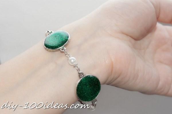glitter Resin Jewellery (1)