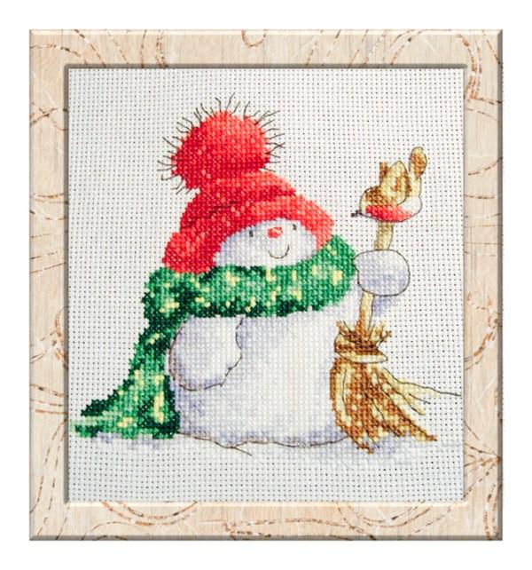 free_cross_stitch_pattern_snowman-2