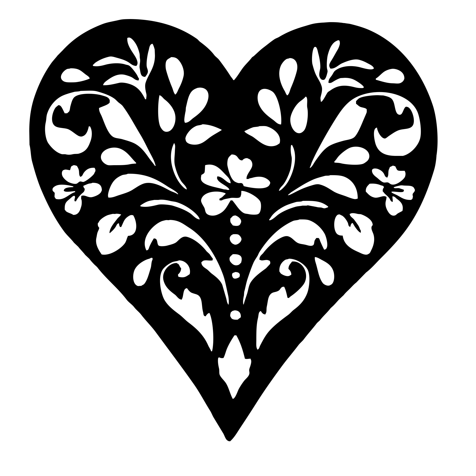 It is a photo of Irresistible Printable Heart Pattern