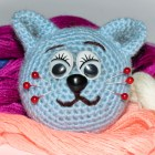 Crochet Cat Pin Cushion
