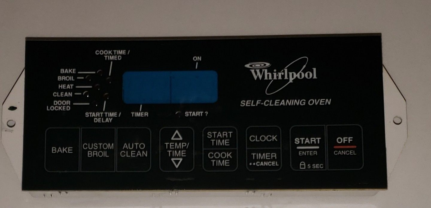 Whirlpool Oven Electronic Clock Control Board - Part # 6610313, 8522477