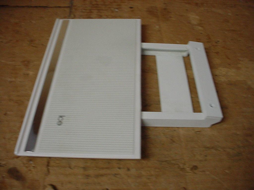 Whirlpool Refrigerator Ice Door w/ Bracket Slide Part # 2148741 1106817