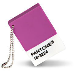 Pantone Chip Radiant Orchid