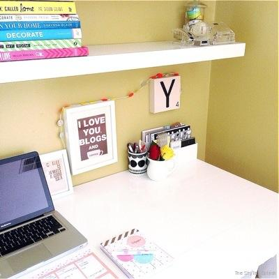 The Stylist Splash home office