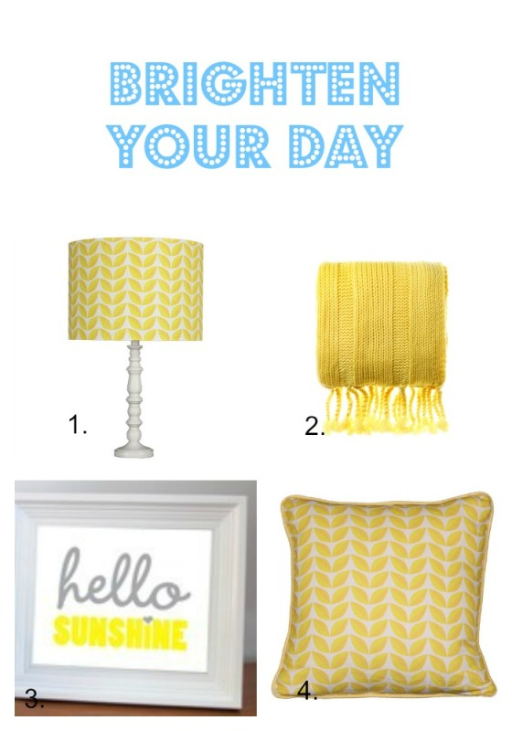 Yellow brighten your day news