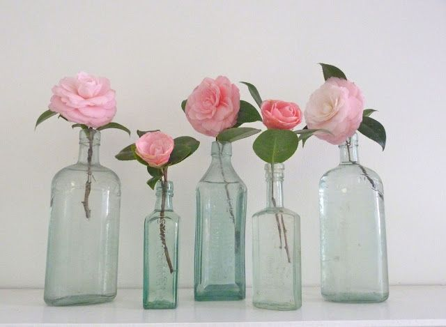 Flowers in Bottles by Beachcomber