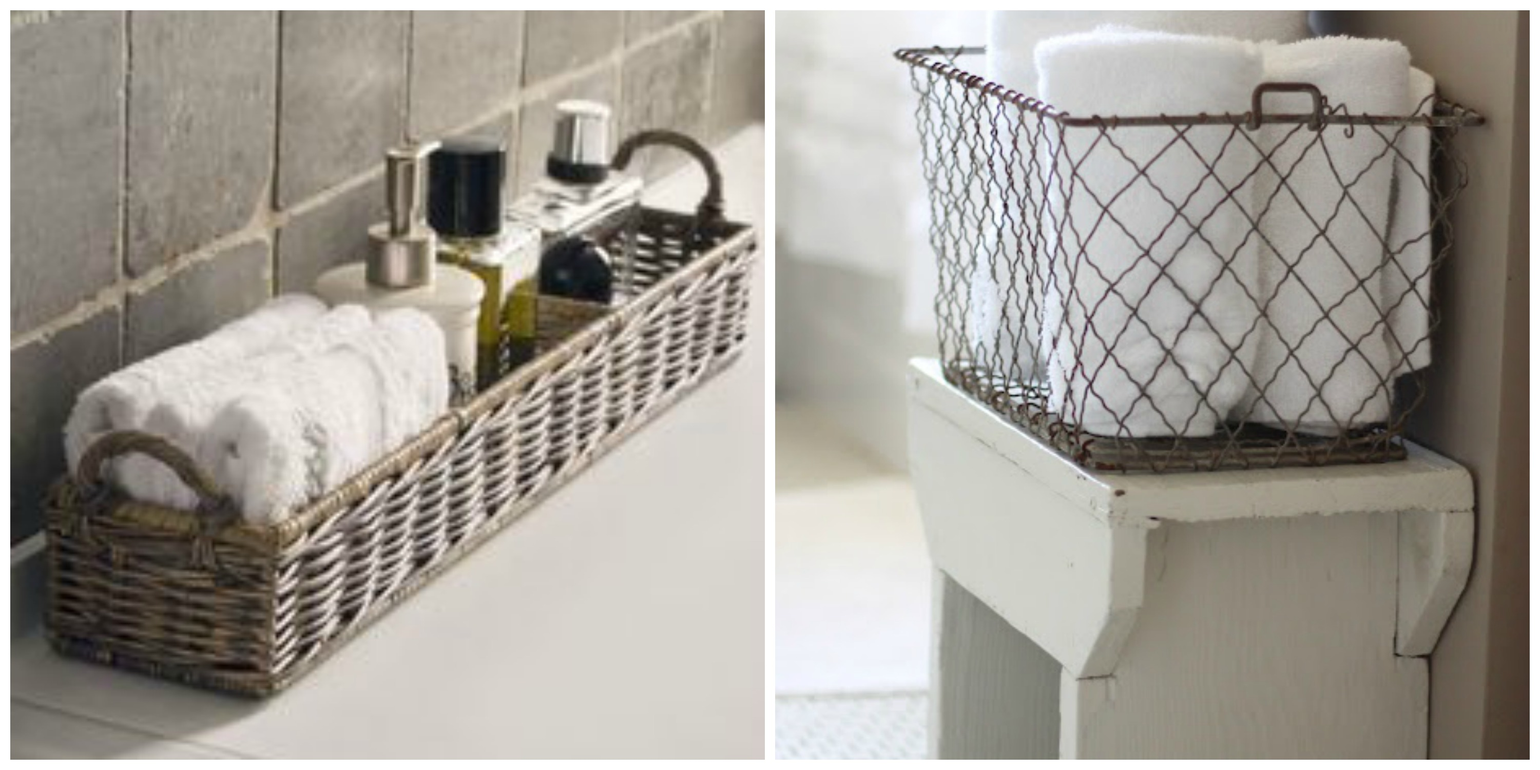 bathroombasketideas - Bathroom Baskets