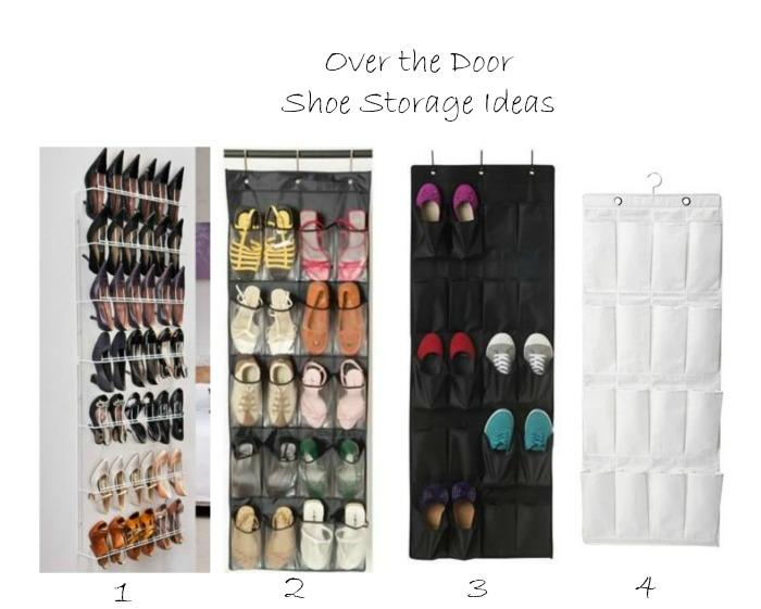 Shoe storage door Collage