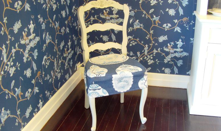 DIY Slipcovers for dining chair