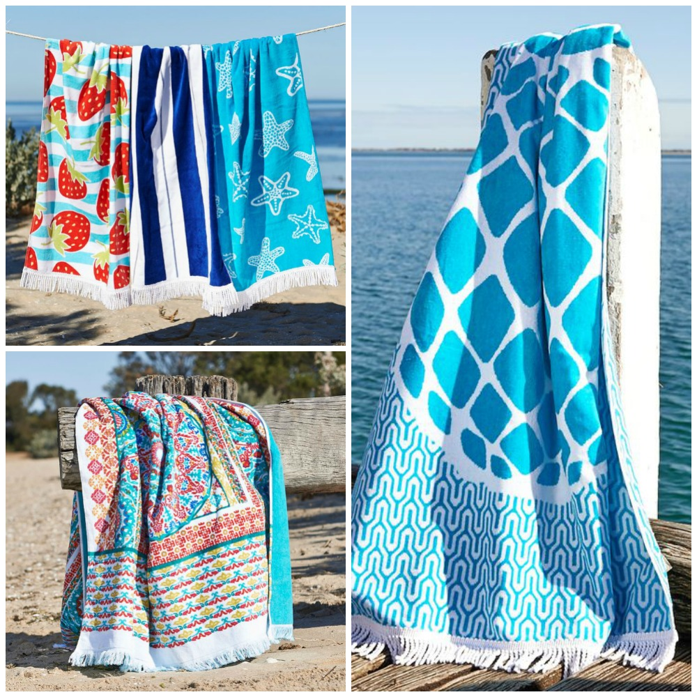 beach towels bed bath n table