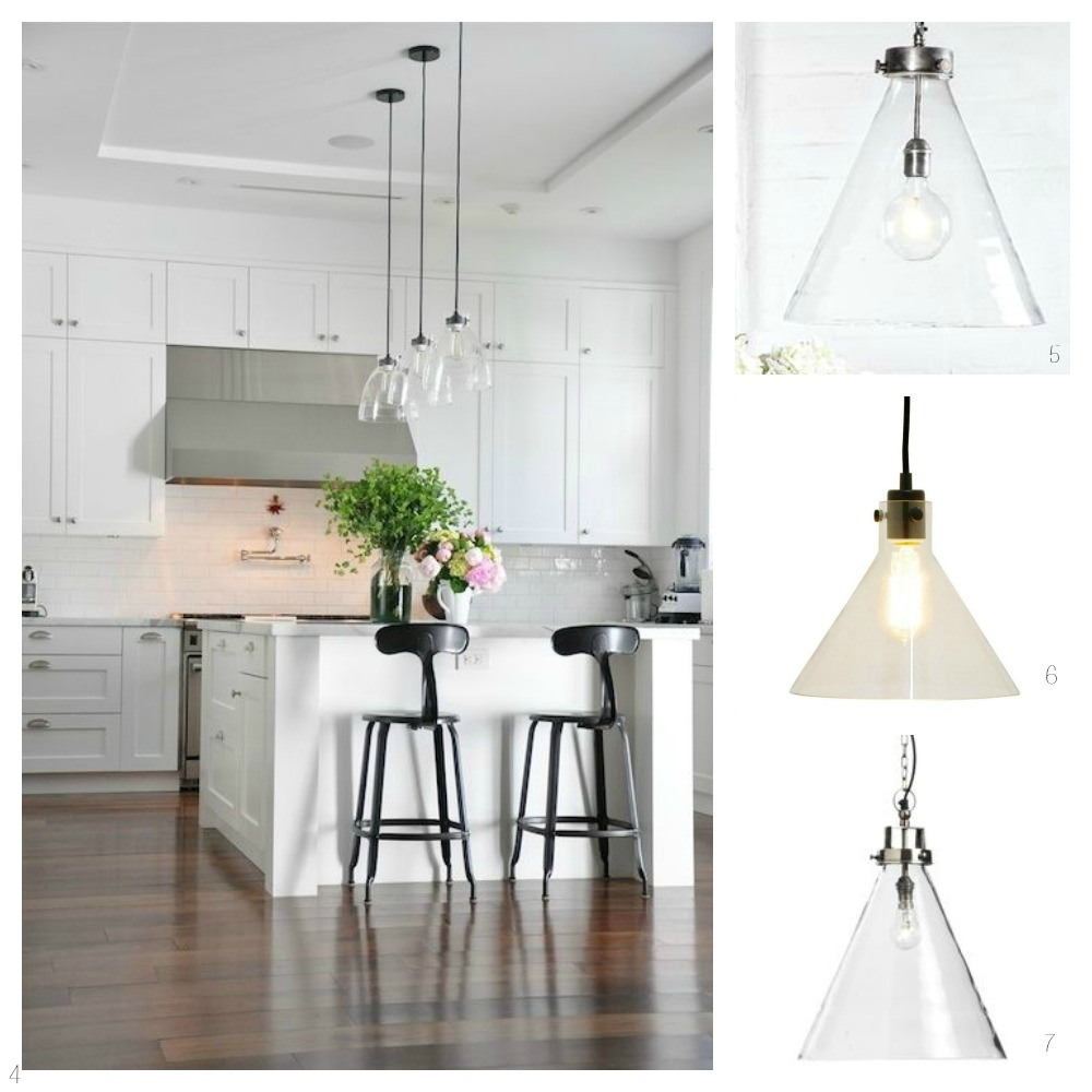 Kitchen Pendant Lights Brushed Glass