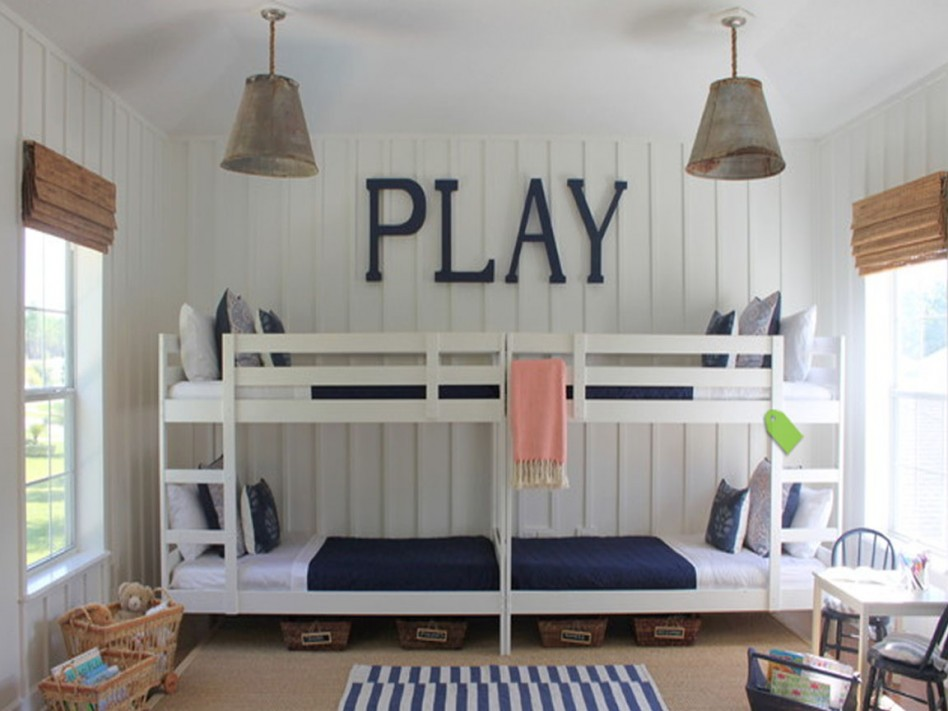 Navy Blue Boys Bedrooms - DIY Decorator