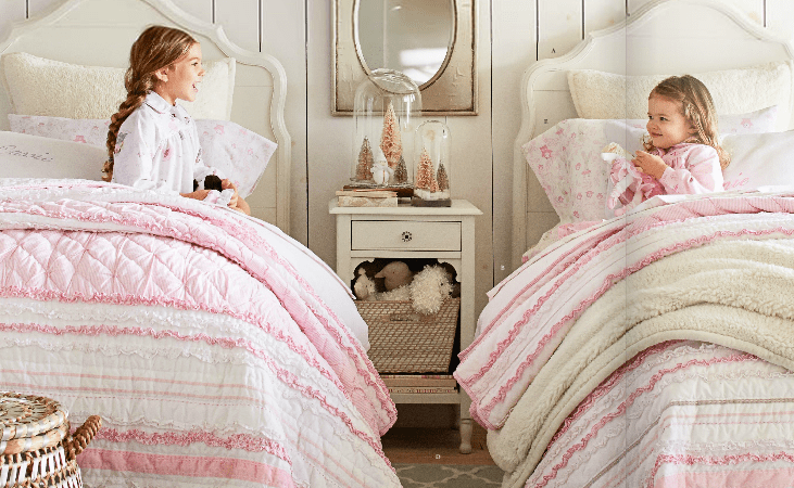 Pottery Barn Kids Winter 2015 Catalogue Girls Room