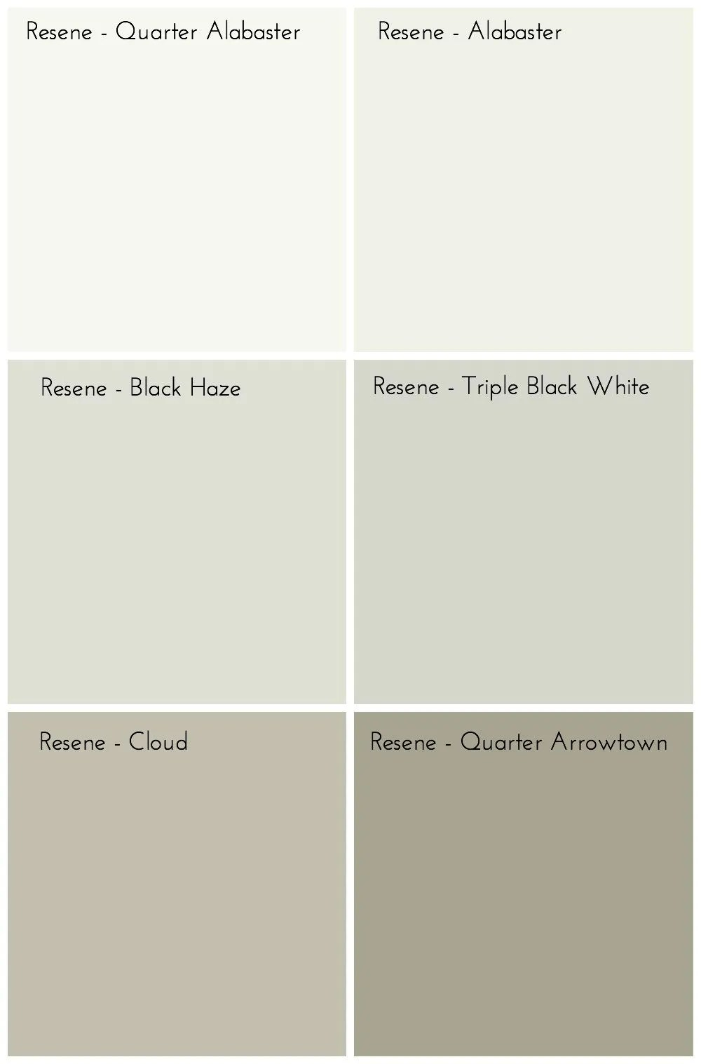 Resene Neutral Paint Colours
