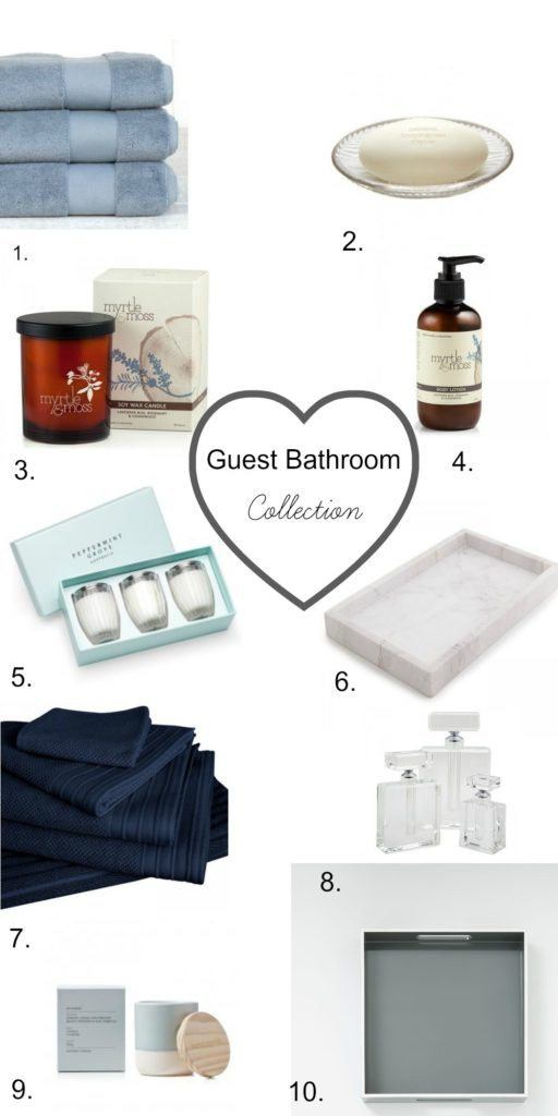 guest bathroom collection