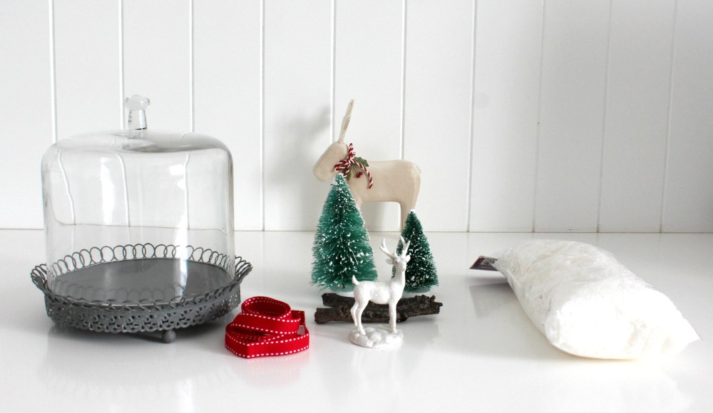 Christmas Cloche What you Need