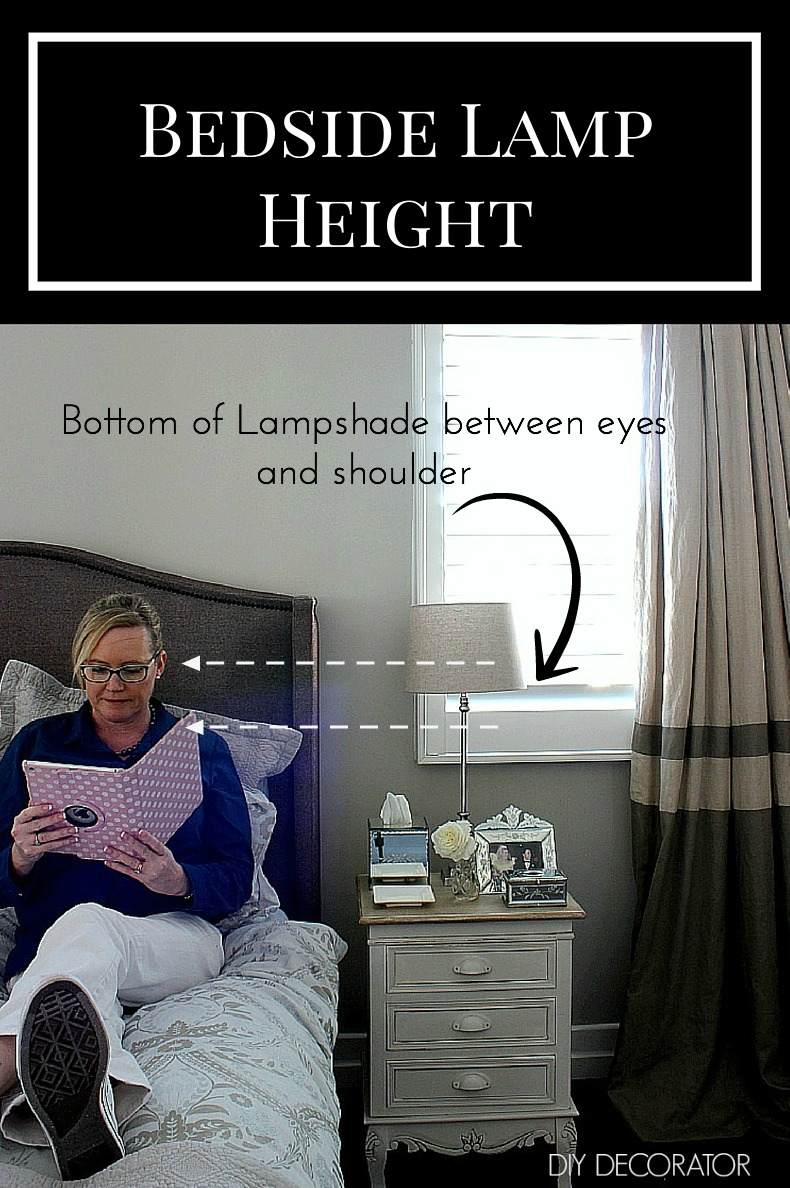 Bedside Lamp What is the right height