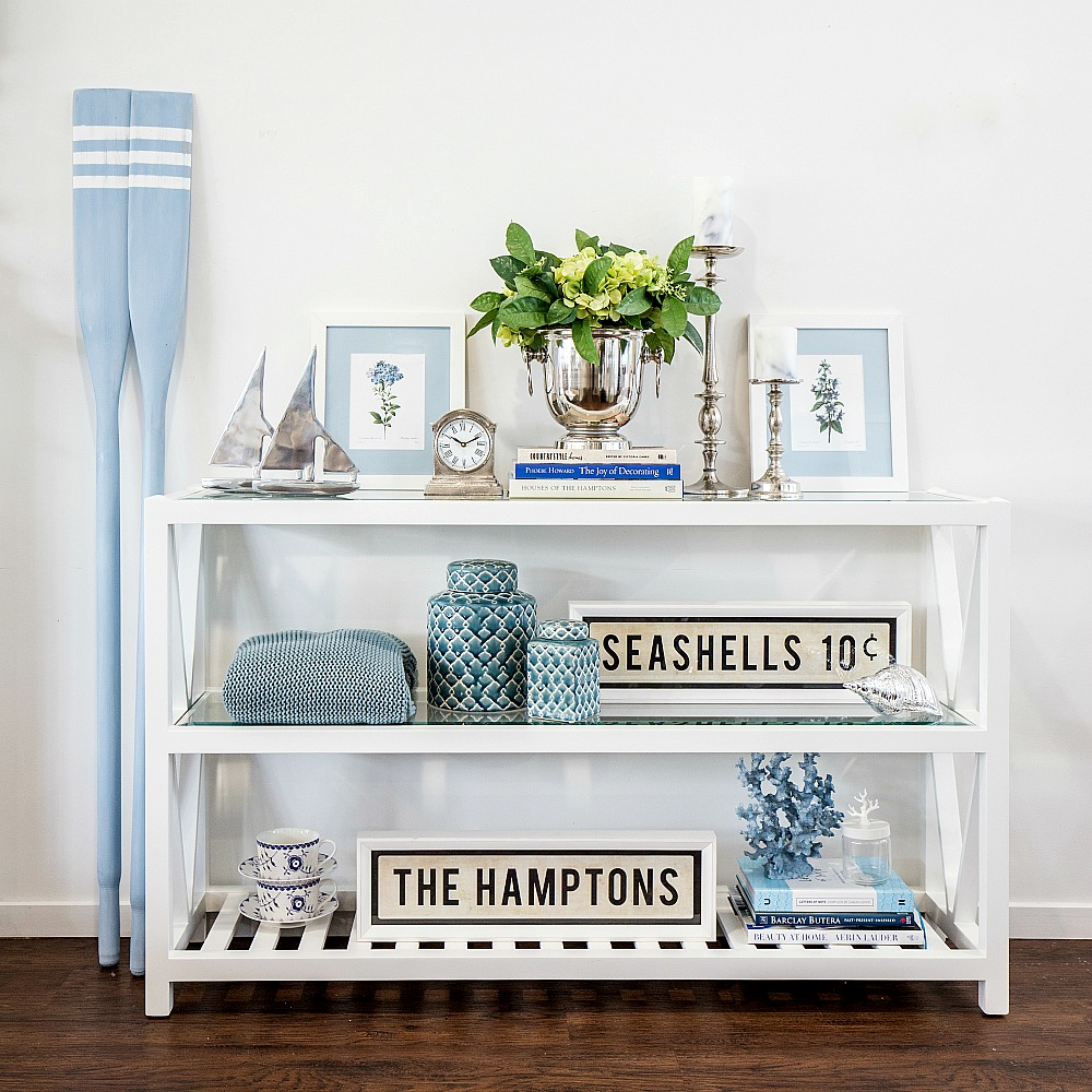 The real hamptons style diy decorator for Design couchtisch fabric