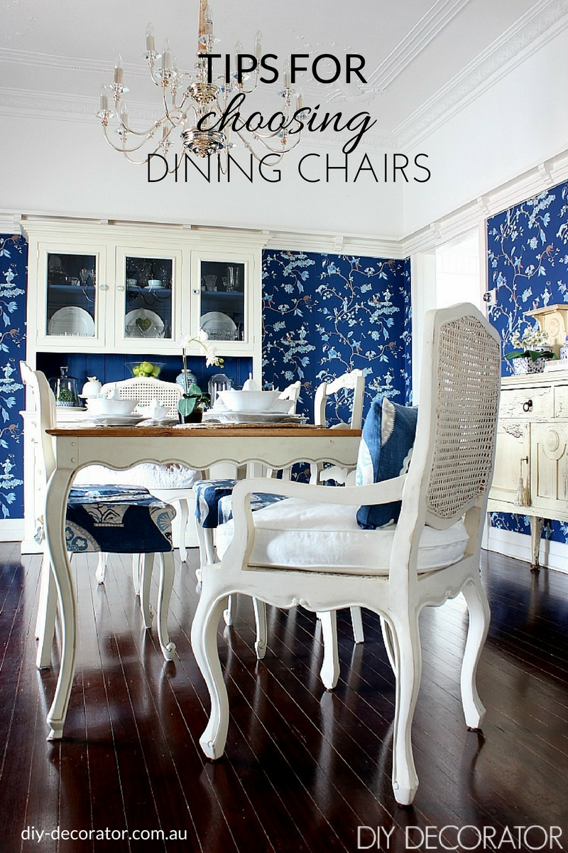 Tips for choosing dining chairs
