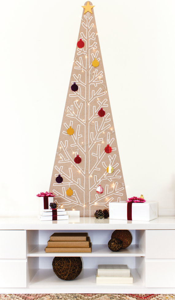 handcrafted Christmas tree treekandi