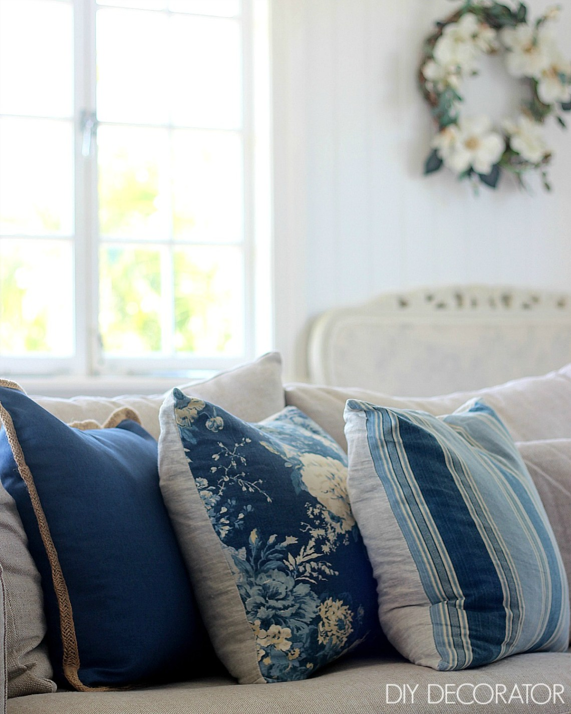 Do you have a love hate relationship with cushions? They say you can never have too many cushions, but can you?