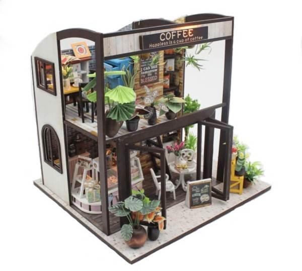 Сборная модель Hobby Day румбокс Coffee house (M027)