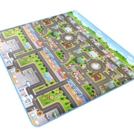 Игровой Коврик «Автомобильный Город»