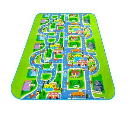 Игровой Коврик «Городское Движение»