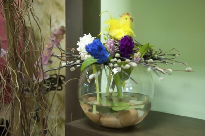 DIY Easter Table Decorations Original Flower Centerpieces