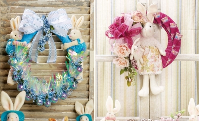 Easter Wreath Ideas With Tutorials