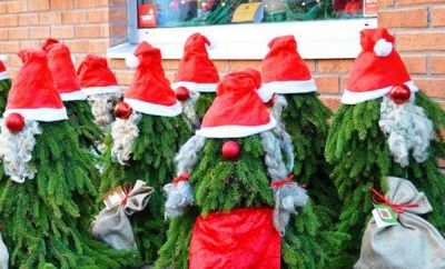 Evergreen Gnomes Easy Diy Christmas Yard Decorations Or For Your Porch