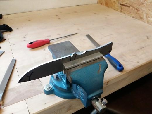 DIY Messer feilen