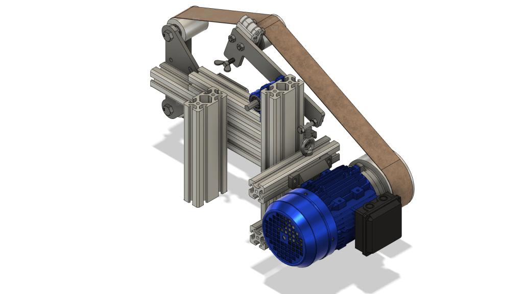 Bandschleifer CAD isometrisch