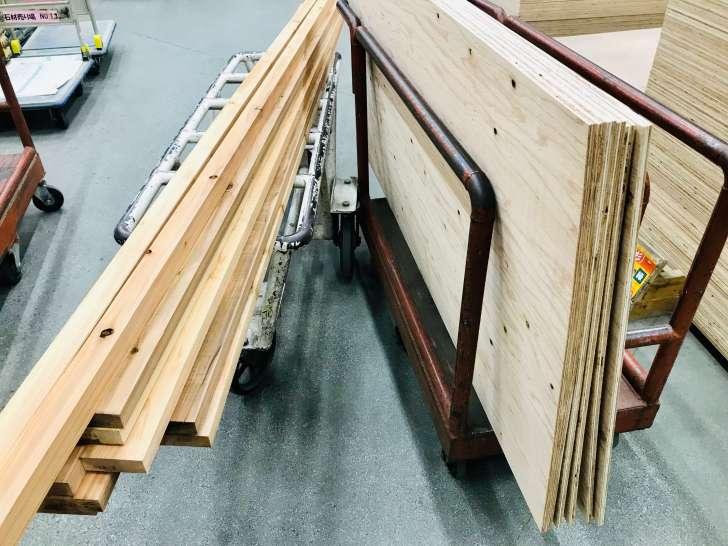 床を張り替える材料