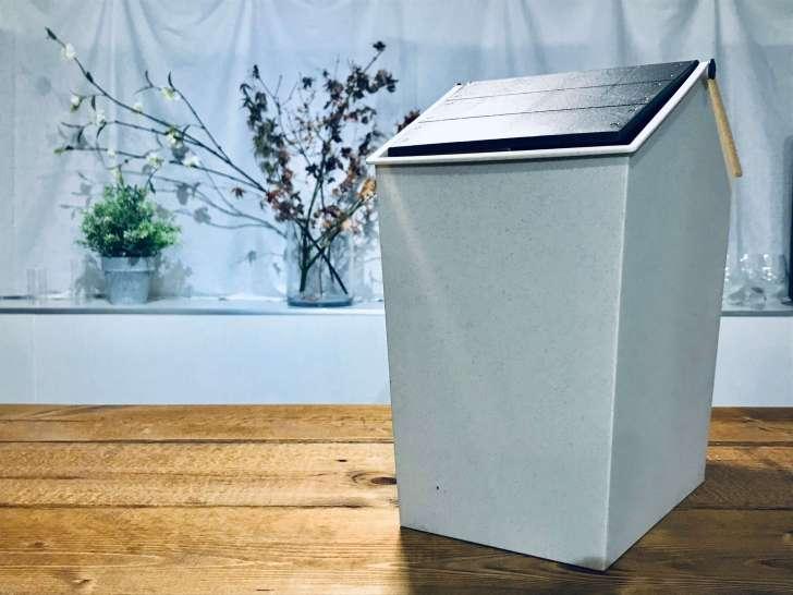 ダイソーの便利な蓋つきゴミ箱