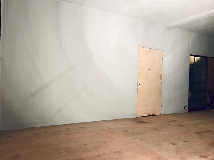 モルタル風塗装の下地完了、完成まであと1歩