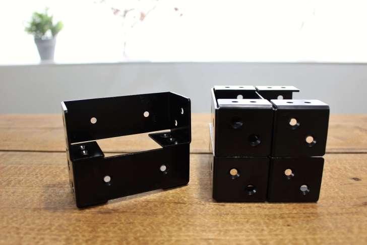 2×4材専用棚受け金具