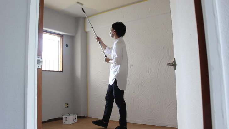 「STYLE」DIYペンキで天井を塗装