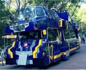 ロボットバスのシュテーボ