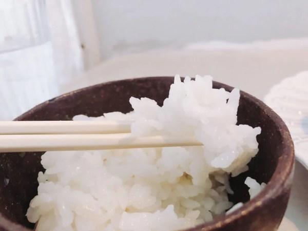 白米が美味しい!こだわっているのが伝わる
