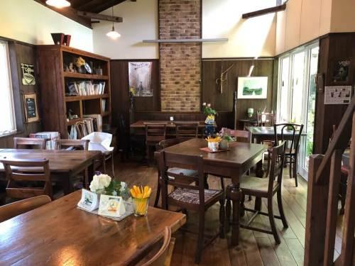 カフェ・ド・ジーノの店内