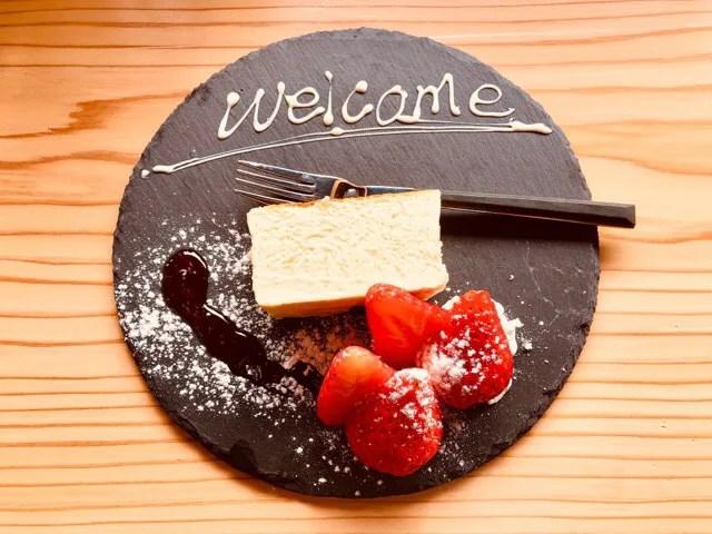 cafe Lepusのデザート「チーズテリーヌ」400円