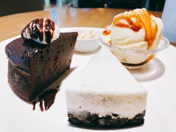 Cafe Cozyのデザートプレート1,000円