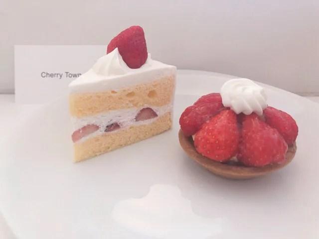 Cherry Townのケーキ