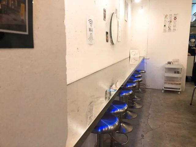 KITCHEN CAFE LAOLEEの店内
